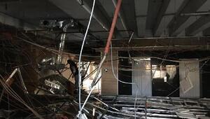 Sakarya Bölge Adliye Mahkemesinde asma tavan çöktü