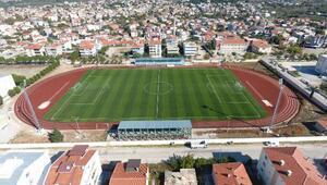 Bayramiç Atatürk Stadyumu yenilendi