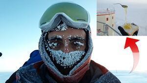 Eksi 70 derecede ilginç yaşam Buzulbilimcinin zor anları...