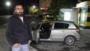 Ressam çalınan otomobilini bulup, hırsızı yakalattı