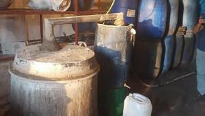 Adanada 11,5 ton sahte içki ele geçirildi