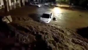 Mallorcayı sel vurdu