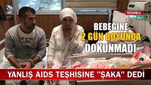 Yanlış AIDS teşhisine ŞAKA dedi