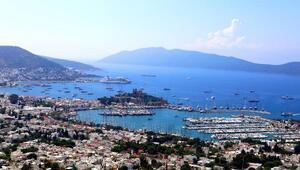 Bodruma hava ve deniz yoluyla gelen turist sayısı arttı