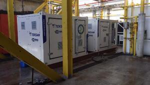 Teksan hibrit jeneratörü Total E&Pnin petrol platformlarında