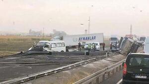 İpek Yolundaki kazada devrilen TIRın şoförü öldü