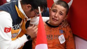 Yürek yakan an Herkesi ağlattı...