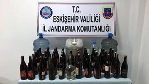 Eskişehirde sahte içki operasyonu