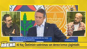 Ahmet Ercanlar, Ali Koçun açıklamalarını yorumladı
