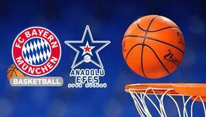 Bayern Münih Anadolu Efes Euroleague maçı bu akşam hangi kanalda saat kaçta canlı olarak yayınlanacak