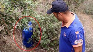Kayıp kadın aranırken ormanda bulunan çantalar ortalığı karıştırdı