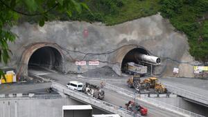 Zigana Tünelinde sona yaklaşılıyor