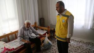 Haliliye Belediyesinden yaşlı ve bakıma muhtaçlara şefkat eli