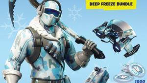 Fortnite: Deep Freeze Bundle kutulu olarak satışa çıkıyor