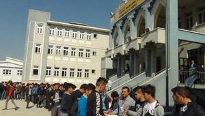 Liseden 1000 kişilik aşure ikramı