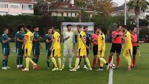 Fenerbahçe hazırlık maçında İstanbulsporu mağlup etti