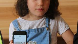 Bakan Selçuk, kağıttan lale hediye eden Suriyeli Sabbahı unutmadı