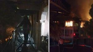 Denizlide yangın çıktı Otel kullanılamaz hale geldi