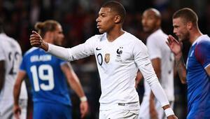 Fransa, İzlanda maçında 4 gol...