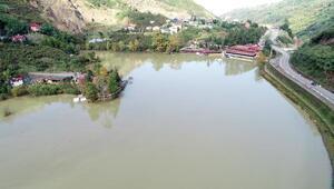 2 bin kamyon balçık çıkarıldı, Sera Gölü kurtuldu