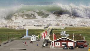 Etna Yanardağı Akdenizde tsunami riski yaratıyor