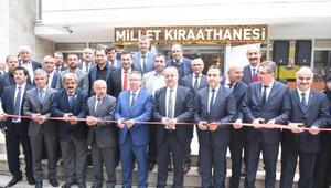Edirnede Millet Kıraathanesi açıldı