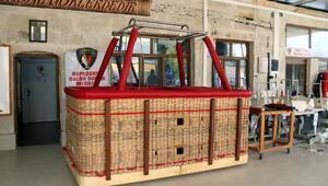 Kapadokyada sıcak hava balonu üretimi başladı