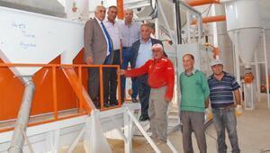 Balâ'ya AB standartlarında tohum eleme tesisi