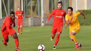 Kayserispor, U21 takımını 4-0 yendi