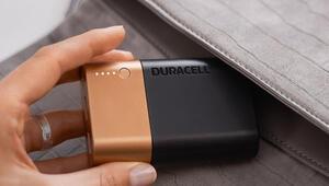 Pilleriyle bilinen Duracellden taşınabilir şarj cihazı