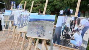 Turkcell Barış Ormanı sergisi açıldı