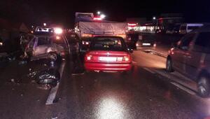 Kırıkkalede 3 zincirleme kaza: 9 yaralı