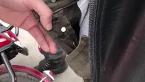 Pantolondaki uyuşturucu zulası polisten kaçamadı