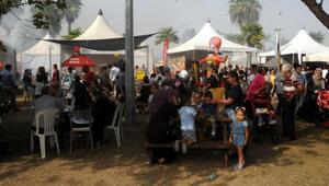Lezzet Festivali'nin son gününde vatandaşlardan yoğun ilgi