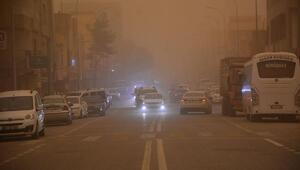 Toz bulutu, Ceylanpınarda hayatı olumsuz etkiledi
