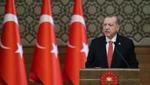Erdoğan: 15 Temmuz ihaneti ve FETÖ konusundaki özeleştirimizi açık yüreklilikle yapabilmeliyiz (1)