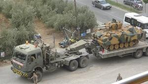 Hatay'da askeri hareketlilik Mühimmat takviyesi yapıldı