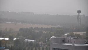 Ankarayı toz bulutu sardı