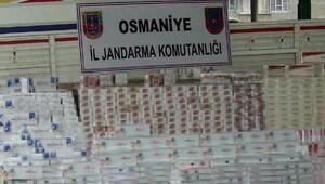 Otomobilinden kaçak sigara çıkan sürücüye 30 bin lira ceza