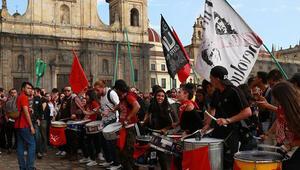 Kolombiya'da eğitim bütçesi protestoları devam ediyor