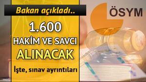 Adalet Bakanlığı 1600 Hakim ve Savcı personel alımı başvuru şartları yayımlandı
