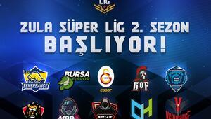 Zula Süper Lig'de heyecan başlıyor