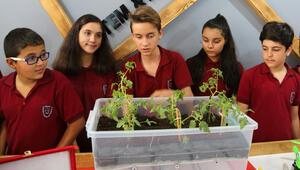 Ortaokul öğrencileri sudan tasarruf sağlayan sulama sistemi geliştirdi