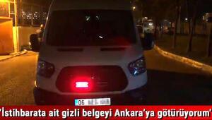 Çakarlı sirenli araçla sigara kaçakçılığı yapan polis yakalandı