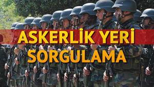 98/4 askerlik yerleri açıklandı E-Devlet kısa dönem askerlik yeri sorgulama