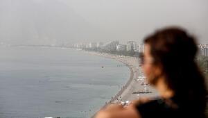 Ve toz bulutu Antalyaya ulaştı