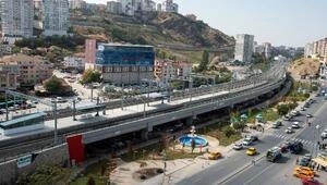 Başkentray Projesi'nin yeşil alan düzenlenmesi tamamlandı