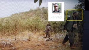 Adıyamanda öldürülen teröristler fotokapan ile görüntülenmiş