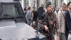 Eminönünde arbede: Bir polis yaralı