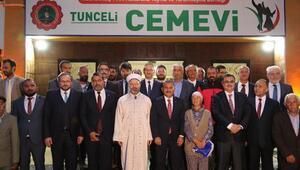 Tunceli, ilk kez bir Diyanet Başkanını ağırladı (2)